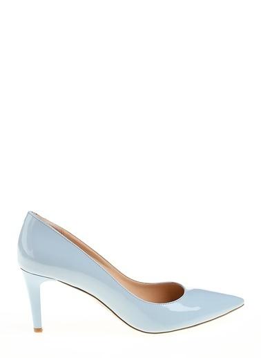 D by Divarese Kısa Topuklu Ayakkabı Mavi